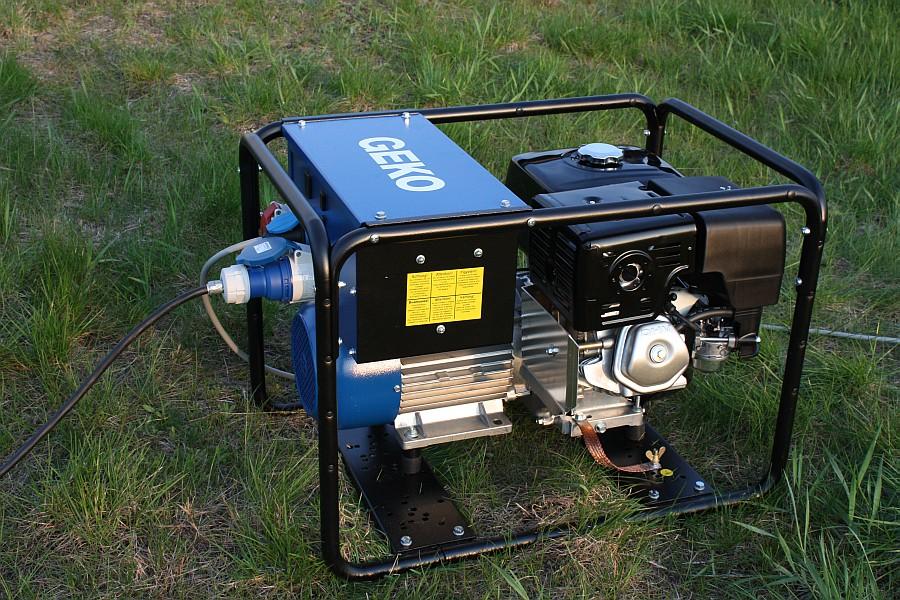 Асинхронные бензиновые генераторы